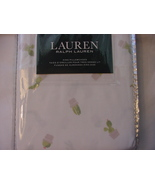 Ralph Lauren Cactus in Beige Pots on White Pillowcases King - $34.00