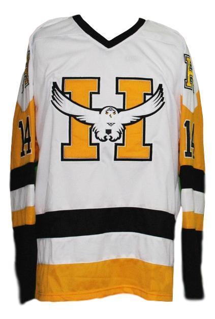 Yannick tremblay beauport harfangs junioe hockey jersey white   1