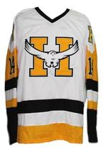Yannick tremblay beauport harfangs junioe hockey jersey white   1 thumb200