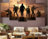 Ce abstract soldiers sunset painting printed on canvas wall art picture home d cor thumb155 crop