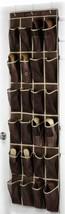 Back Door 24 Pocket Shoe Footwear Organizer Compartment Rack Storage Dor... - $31.92