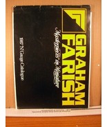 Train Catalog Graham Farrsh Masterpieces in Miniature 1987 'N' Gauge Cat... - $8.99