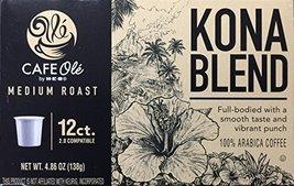 H-E-B Cafe Ole Kona Blend Medium Roast Single Serve Coffee Cups - $16.80