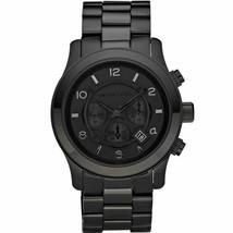 Michael Kors Men's Watch Stainless Steel Bracelet Chronograph MK8157 Black - $263.39