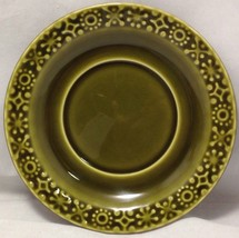 Connemara Celtic Irish Fine Earthenware Saucer for Cup Vintage Green Sha... - $17.81