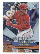 2018 Bowman Birthdays #BB-TT Trea Turner NM-MT Nationals - $0.99