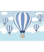 OFILA Hot Air Balloon Backdrop 7x5ft Baby Shower Photography Background ... - $16.88