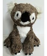 "Koala Bear Plush 11"" Stuffed Animal HugFun Gray White Wildlife Toy Hug Fun - $14.50"
