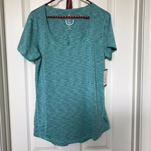 Athletic Collection 26 International XL Lightweight Turquoise Green Tee NWT - $7.59