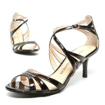 MARC FISHER Dress Heels Women's Size 6.5 Strappy Sandals Shoes Black - NEW - $30.05