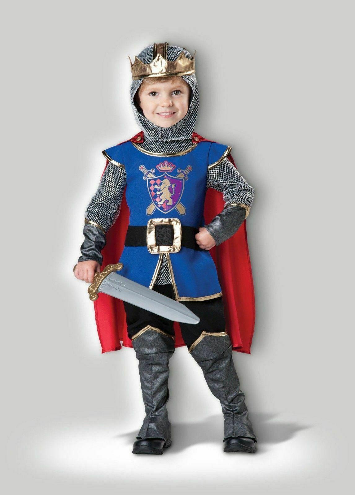 Incharacter Deluxe Ritter Krieger Kleinkind Jungen Halloween Kostüm CY60008