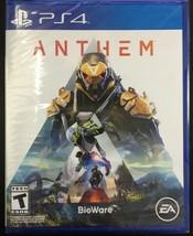 PS4 PLAYSTATION 4 / Anthem Standard Édition Vidéo Jeu Tout Neuf