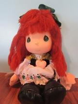"Precious Moments Irish Doll the worlds children red yarn  Hair 13"" - $28.51"