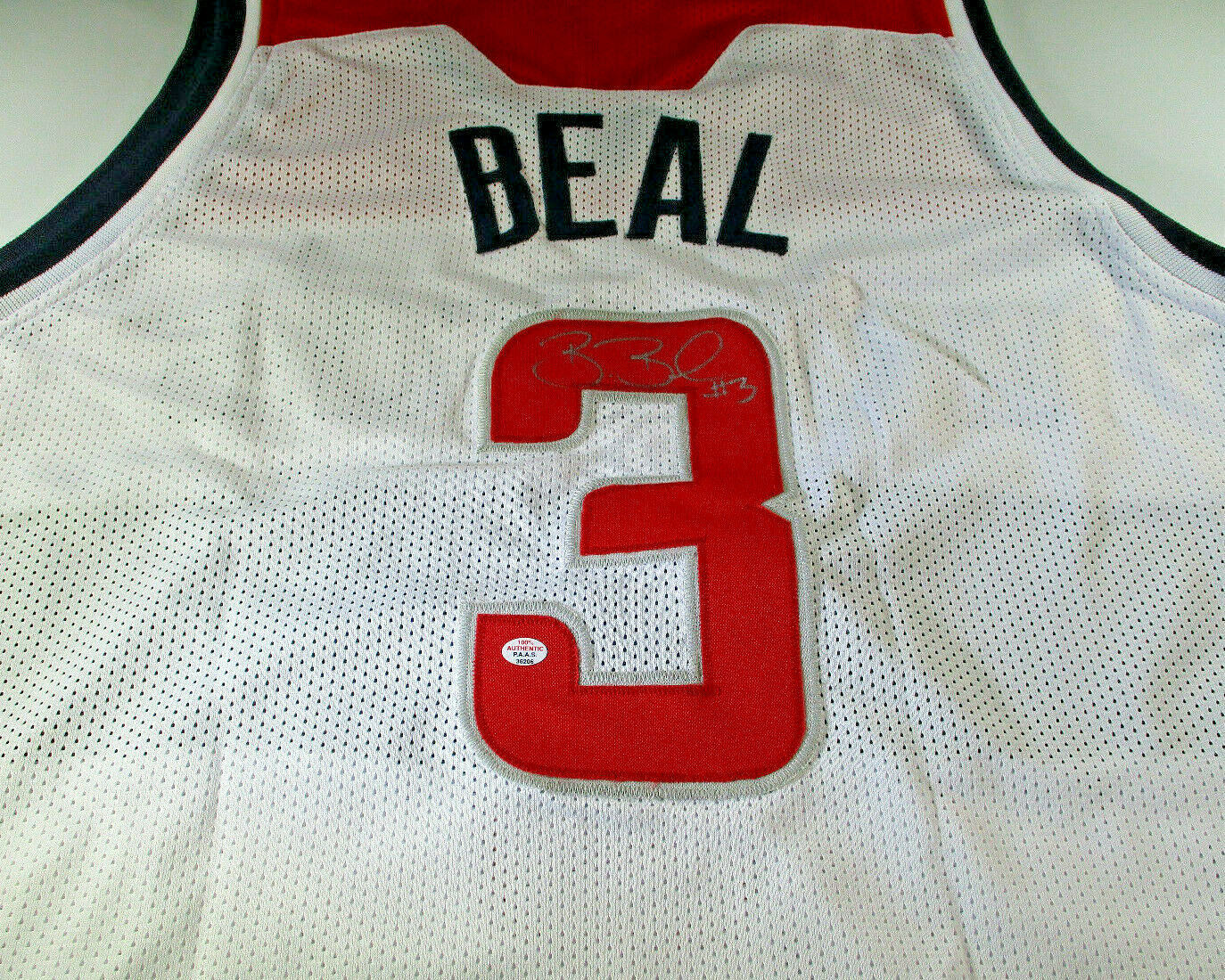 designer fashion 52c83 de5d3 BRADLEY BEAL / 2019 ALL-STAR / AUTOGRAPHED WASHINGTON WIZARDS CUSTOM JERSEY  COA