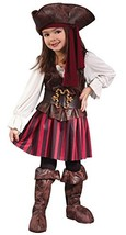 Fun World Baby Girl's Toddler Girl High Seas Buccaneer Costume, Brown/Wh... - €18,67 EUR