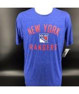 NHL New York Rangers Tri-blend Shirt Size Mens Medium 38/40 - NEW W/ Tag... - $22.99