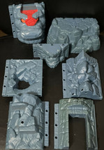 Fisher Price Imaginext Medieval Castle Rock Wall 7 Parts - $19.70
