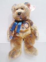"2000 TY Beanie Buddies "" Clubby 3"" the Bear : PE Pellets : China Made {3... - $7.72"
