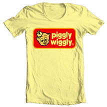 Piggly Wiggly T-shirt retro 70's 80's vintage brands cotton printed graphic tee image 2