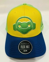 BIOWORLD OVERWATCH LUCIO FROG LOGO FLEX HAT OSFM NEW! NICE! - $18.80