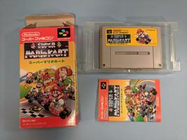 Super Mario Kart ~ Complete in Box CIB (Nintendo Super Famicom, 1992) - $21.42