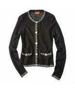 Missoni for Target Black Textured Knit Cardigan Sweater Jacket - Women's XL - $75.00