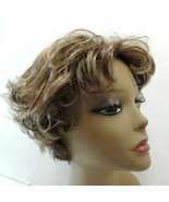 Henry Margu Wig Short Boycut  Layered Pixie Med Brown Highlights Average... - $35.00