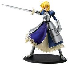 NEW Fate SQ figure Saber Fate stay ver. anime Japan Banpresto official in Box - $48.15