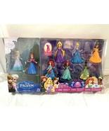 DisneyPrincess Magic Clip 8 figure doll set Cinderella Bell Ariel Tiana ... - $173.25