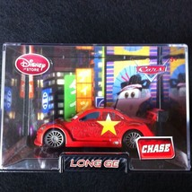 Disney Store Cars LONG GE Character Replica Diecast In Collector Case CHASE - $14.95