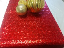 SEQUIN RUNNERS COLORS Runner Choose Size and Color Sequins Table Runner,... - $14.00