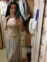 Silver Gold Pleated Skirt Vintage High Waist Long Metallic image 10