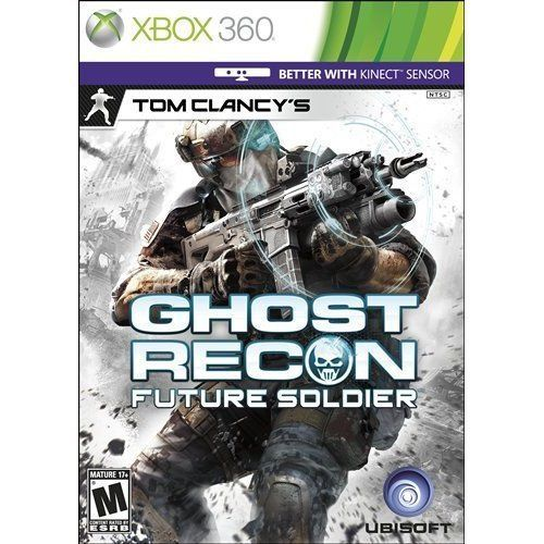Tom Clancy's Ghost Recon: Future Soldier Xbox 360 Video Game Complete
