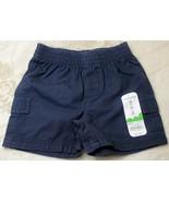 Jumping Beans Toddler Boys Blue Shorts Elastic Waist 12mo 18mo 24mo - $4.99