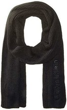 Calvin Klein Men's Black Chunky Wave Scarf - $19.79