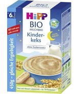 HiPP Kinderkeks Biscotti paps for babies -ORGANIC-from 6th month-FREE SH... - $24.74