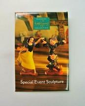 "WDCC Disney Pin - 2"" x 3"" - Special Event Sculpture Snow White & Seven D... - $6.99"