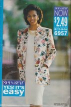 Misses Jacket & Dress Butterick Sewing Pattern 6957 (Size B: 12-14-16) - $8.33