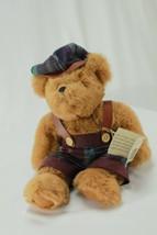 "Ganz JORDAN Bear 12"" Cottage Collectibles Artist Terry Skorstad Tags 1995 - $25.16"
