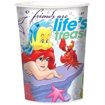 Ariel Dream Big Birthday Party Plastic Favor Cup 16 oz Little Mermaid - $2.09