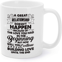How Well You Continue Buiding Love Until End Coffee Mug - $16.95