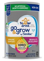 Go & Grow by Similac Non-GMO Milk-Based Powder Toddler Drink with HMO (4... - $39.55