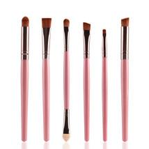 Type FK MAANGE 6Pcs Makeup Brushes Set Eye Brushes Set Eyeliner Eye A - $5.00