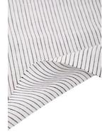55'' Wide Home Linen Fabrics Striped Flax Fabric White (17.5 55 Inches) - $22.31