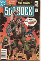 DC Sgt. Rock #362 Who's In Charge War Battlefield Action Easy Company - $2.95