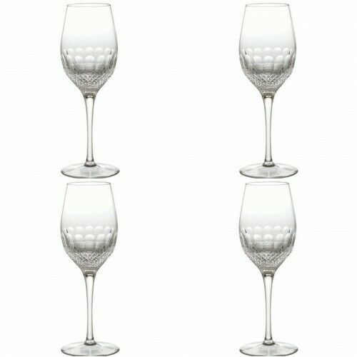 Primary image for Waterford Crystal Colleen Essence White Wine Four (4) New 147212
