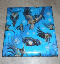 DC Comic American Greetings Christmas Wrapping PAPER 20 sq ft Roll - $4.75