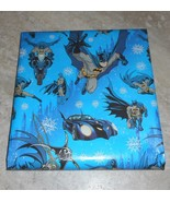 DC Comic American Greetings Christmas Wrapping PAPER 20 sq ft Roll - $5.50