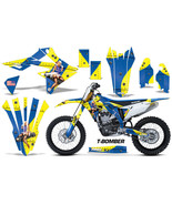 Suzuki RMZ450 RMZ 450 Graphics Kit Dirt Bike Wrap Decals Stickers 2018 T... - $168.25