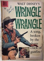 WRINGLE WRANGLE Dell Four Color Comics #821 (1957) Dell Comics western VG - $9.89